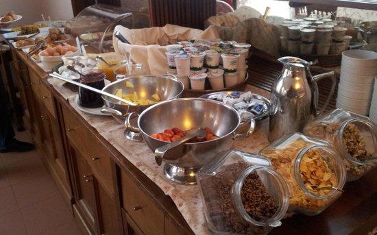 Hotel Borghetti: colazione