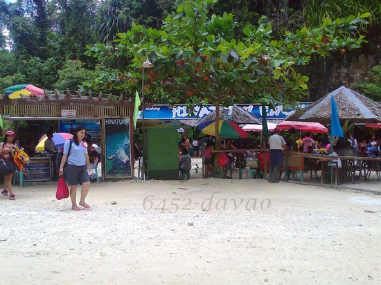 Hinatuan, Philippinen: crowded with guests