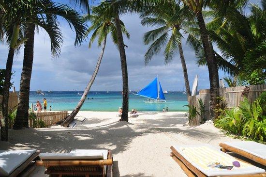 The Greenhouse (Boracay Beach House): Amazing view of a beach