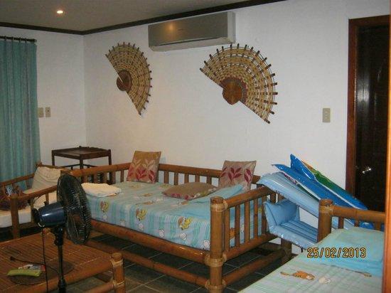 The Greenhouse (Boracay Beach House): First floor.