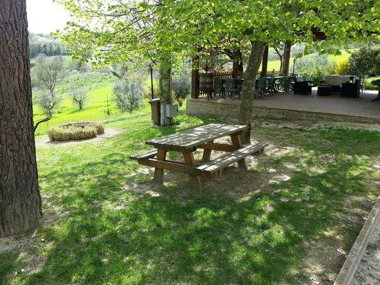 Agriturismo Oasi Battifoglia : Fronte ristorante