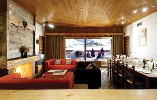 Chalet Caribou: Lounge area