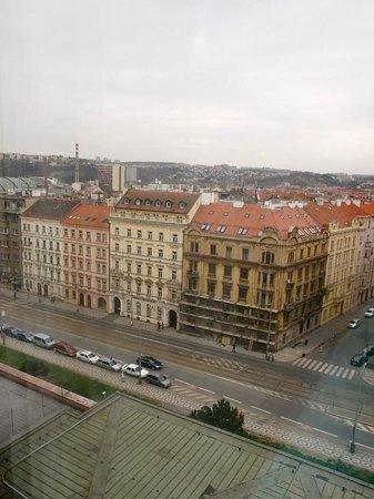 Parkhotel Praha: Panorama camera lato sx