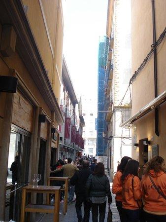 Hostel Entresuenos Logrono: C/ Laurel - Zona de pintxos