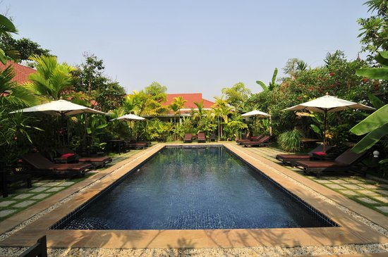 The Moon Boutique Hotel: Piscine