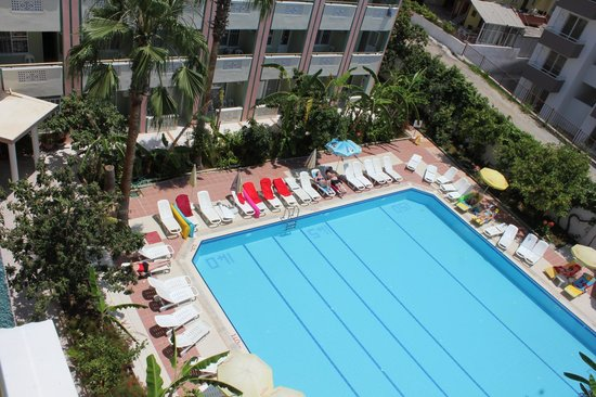 Gazipasa Star Hotel: Wiev from one of top floor room