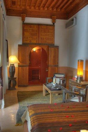 Riad l'Orangeraie: 'Paprika' suite