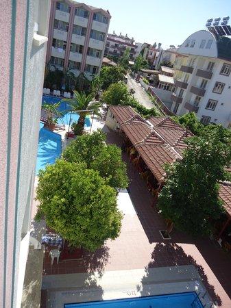 Gazipasa Star Hotel: Wiev from balcony