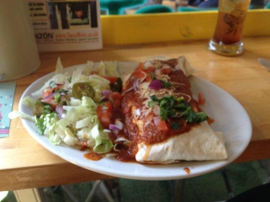 EL PANZON : Wet Burrito