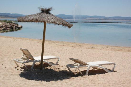 Vincci Valdecañas Golf Hotel: Playa playa!!