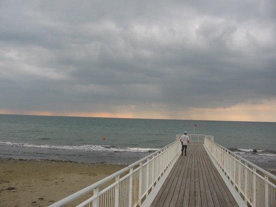Lido di Venezia, Italy: На пляже