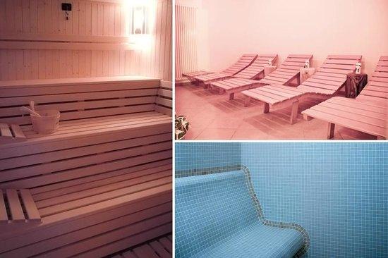 Spa con Sauna, Bagno Turco, Doccia Cromatica e Zona Relax - Foto di ...
