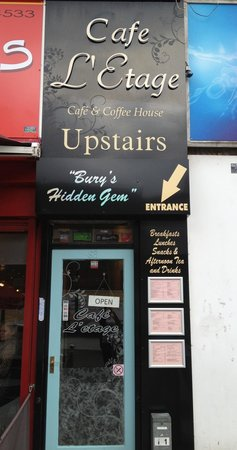 Cafe L'etage front