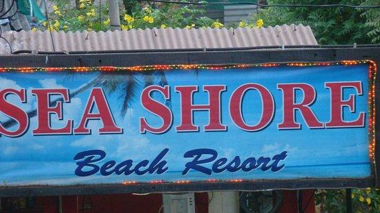 Sea Shore Beach Resort : Hotel's Board