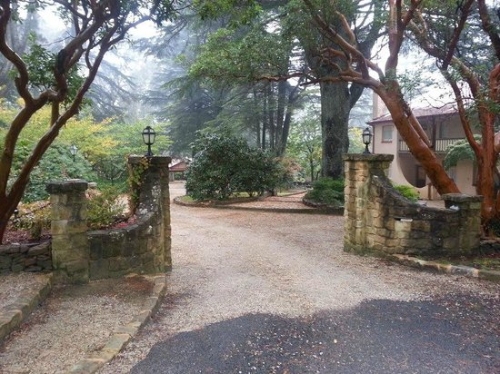 Whispering Pines Chalet: Whispering Pines Entrance Gates