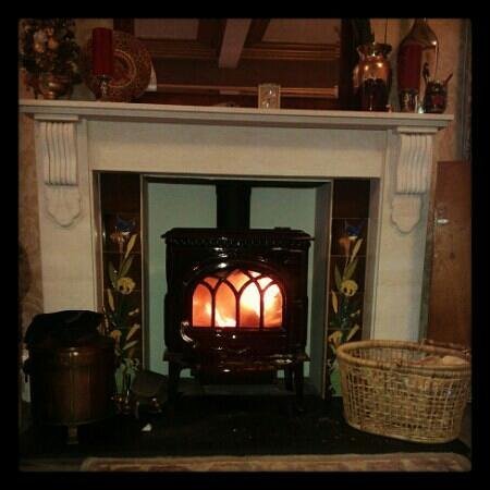 Rosebank House Bed and Breakfast: Real Wood Fire in the Lounge