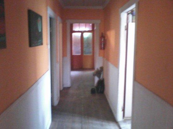 Hostel El Patagonico: pasillo