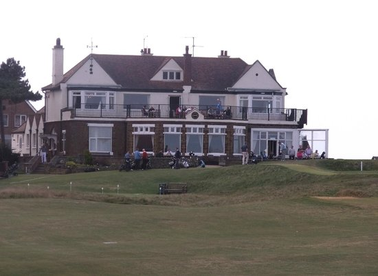Old Hunstanton, UK: Clubhouse