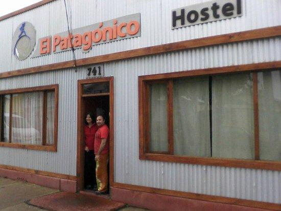 Hostel El Patagonico: entrada