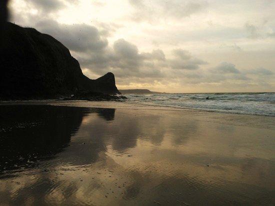 Nantgwynfaen Organic Farm: The beach, 15 mins drive!