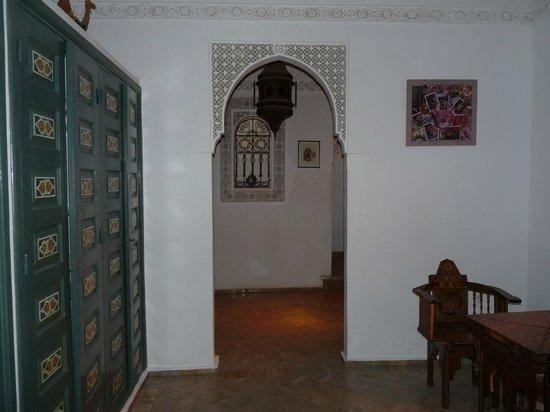 Riad Dar Alfarah: interno del riad