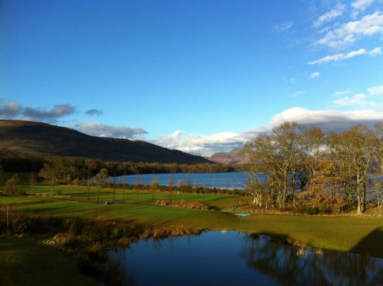 Cameron Club Lodges at The Carrick: View from apartment