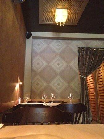 Restaurant Amaia : sala