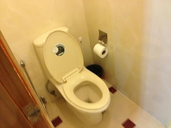 Paradise Sukhumvit: toilet