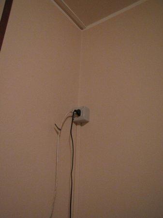 Beniamino Ubaldi: presa a muro e antenna TV