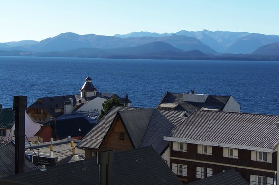 Panamericano Bariloche: Our rooom with a view (Nahuel Huapi lake)