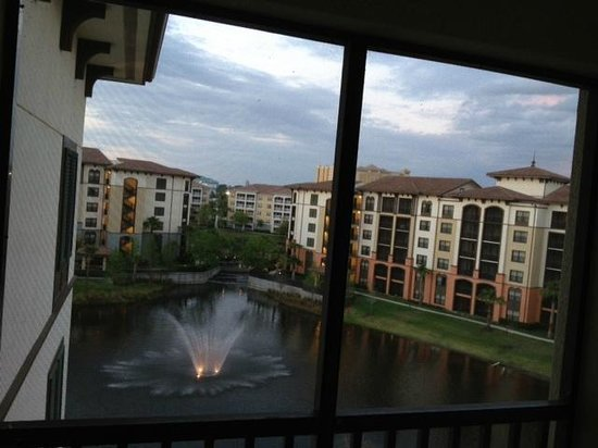 Sheraton Vistana Villages - International Drive: Our view from balcony