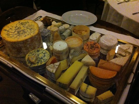 Bleeding Heart Restaurant: Cheese Board