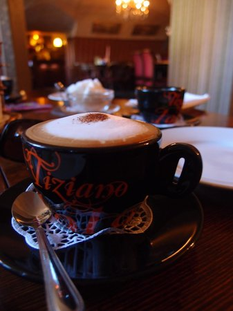 The Idiot: nice cup of cappucino