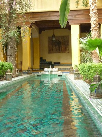 Riyad Al Moussika: View of the pool