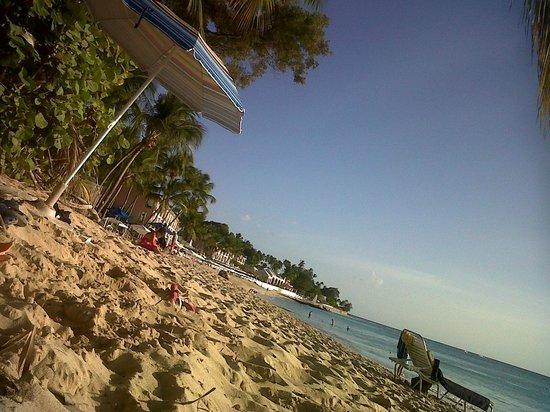Ju Ju's Beach Bar and Restaurant: On the beach at Jus Jus