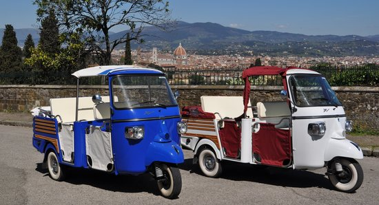 Tuk Tuk in Florence -  Day Tour