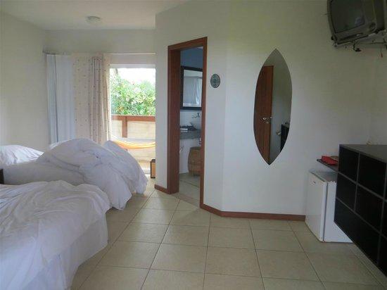 Pousada Penareia: The room
