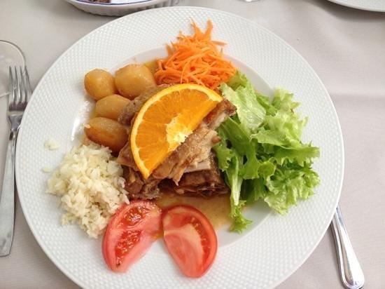 Restaurante O Trovador : cabrito