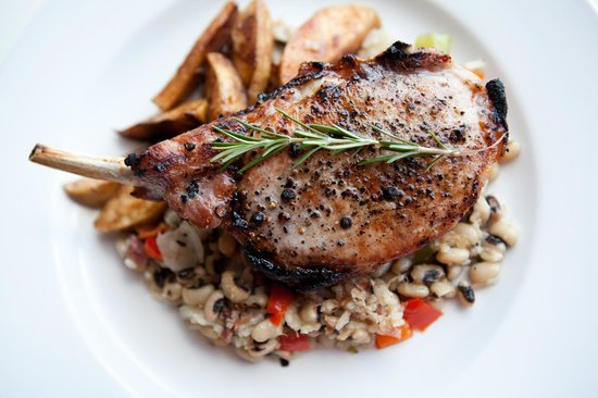 The Bank Food and Drink: Pork Chop