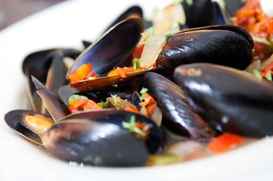 The Bank Food and Drink: Mussels