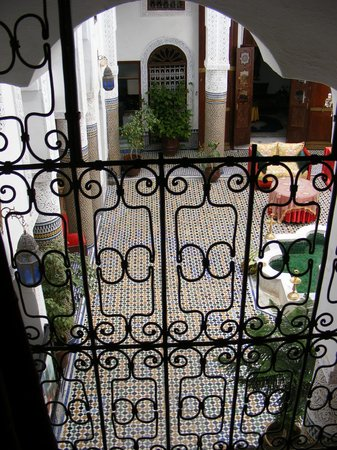 Riad Lalla Zoubida : dalla balconata della ns camera