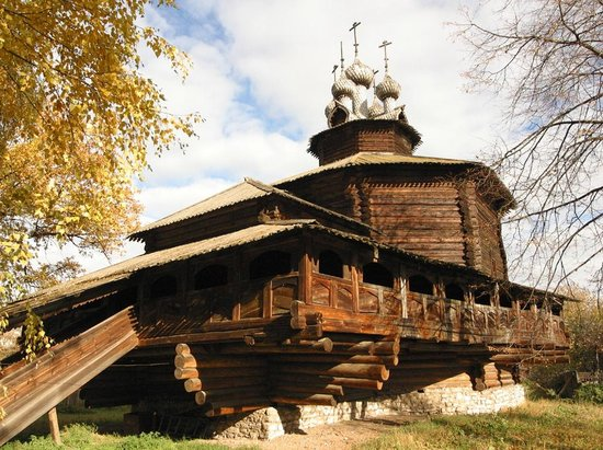 Kostroma, Russie : Provided by wooden museum