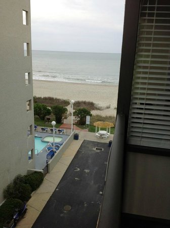 Palmetto Shores Oceanfront: My view from room 520.
