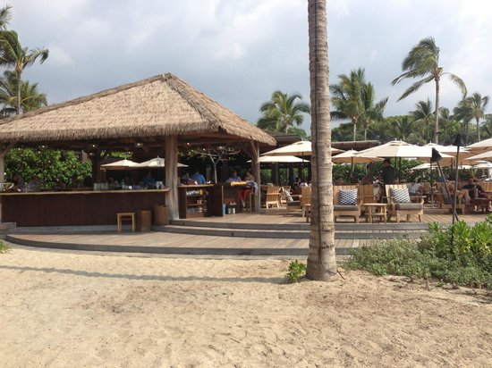 Beach Tree Bar and Lounge: View of the resturant