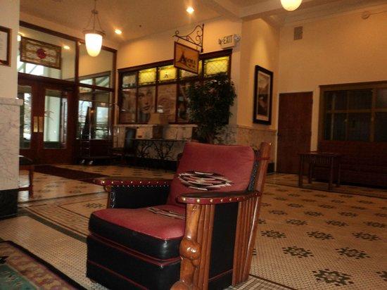 ذا هيستوريك بلاينز هوتل عضو مجموعة فنادق آسيند: Lobby view with historical furniture