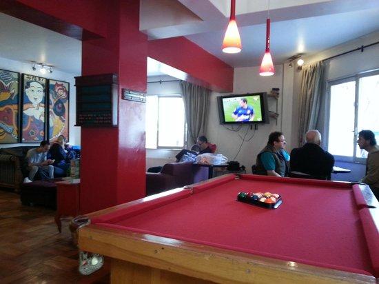 Andes Hostel: Lounge