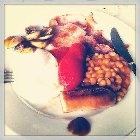 Kings Guest House: El desayuno.