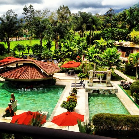 The Royal Corin Thermal Water Spa & Resort: Our view