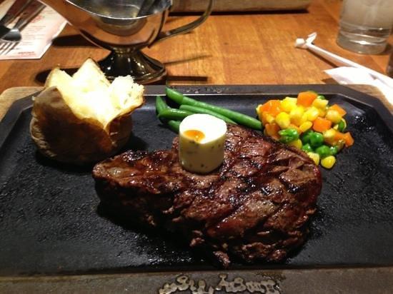 Hungry Tiger Hino: シャトーフィレステーキ!美味