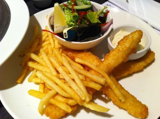 Rydges South Bank Brisbane: the fish and chips